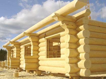 Строительство брусовых домов своими руками фото